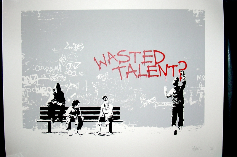 Are You Wasting Your Talent?